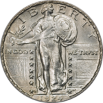 Standing Liberty Quarter Dollar