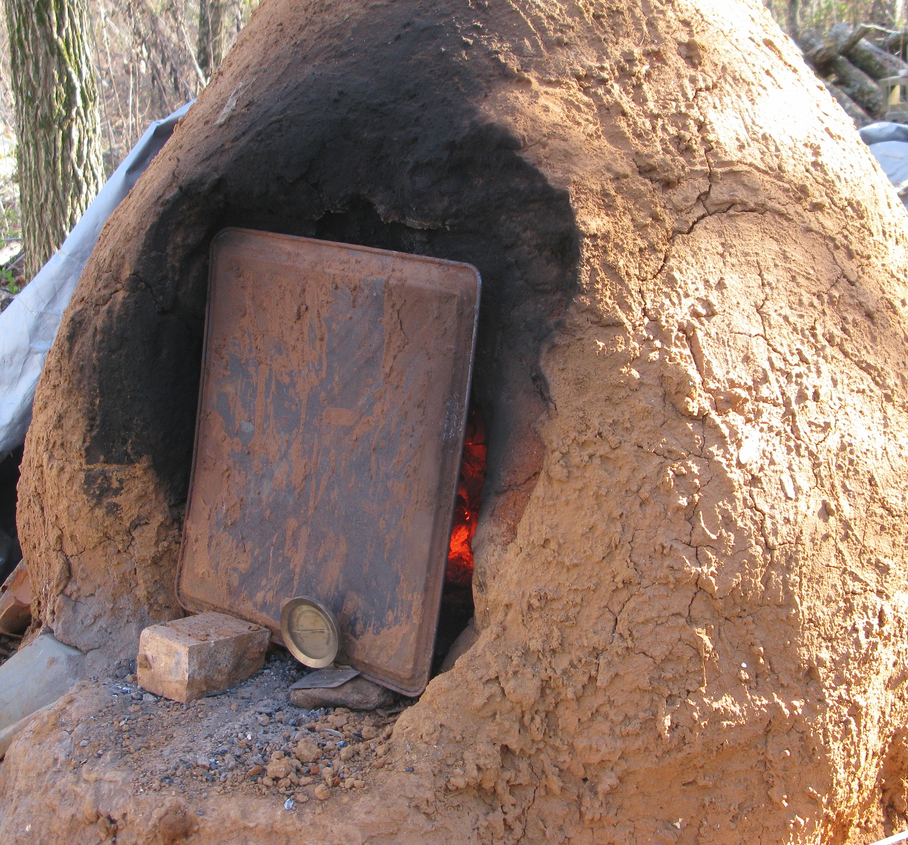 The Poor As Dirt Kitchen Clay Ovens No6ody